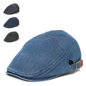 7 ハンチング デニム メンズ レディース 帽子 ハンチング帽|lion-do