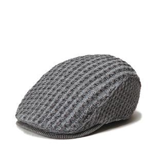 ウイングハンチング 秋冬 おしゃれ メンズ レディース ニットハンチング サイズ調整 セール 帽子|lion-do