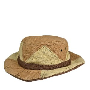 トリ・ハンターハット・ジュート 春夏 メンズ レディース 洗える 麻 あご紐 セール 帽子|lion-do