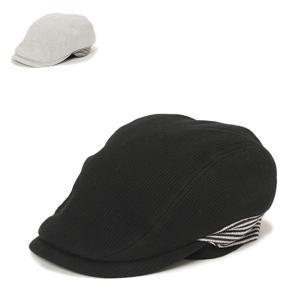 リブハンチング・ツートン 帽子 メンズ レディース 大きい 伸びる|lion-do