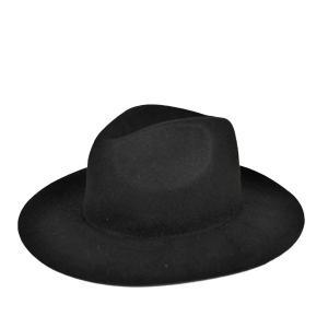ボッシュ・ロングブリム・フェルトハット 秋冬 おしゃれ 広つば 黒 ベージュ メンズ レディース 帽子|lion-do