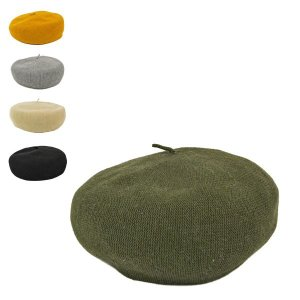 綿麻サーモニットベレー帽 メンズ レディース 春夏 夏 夏用 メッシュ 涼しい|lion-do