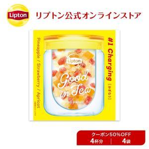 (公式) リプトン アウトレット品 Good in Tea ドライフルーツ 4袋|lipton-jp