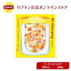 (公式) リプトン アウトレット品 Good in Tea ドライフルーツ 24袋|lipton-jp