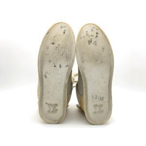 LOUIS VUITTON × KANYE WEST ルイヴィトン × カニエウエスト ドンズ スニーカー ローカット スニーカー 靴 アイボリー 人気ブランド【中古】7-1338YU|liqueurbank|04