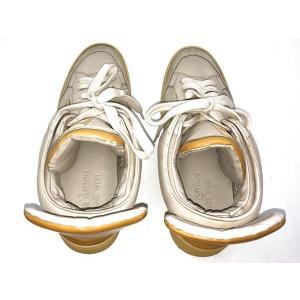 LOUIS VUITTON × KANYE WEST ルイヴィトン × カニエウエスト ドンズ スニーカー ローカット スニーカー 靴 アイボリー 人気ブランド【中古】7-1338YU|liqueurbank|05