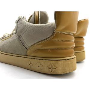 LOUIS VUITTON × KANYE WEST ルイヴィトン × カニエウエスト ドンズ スニーカー ローカット スニーカー 靴 アイボリー 人気ブランド【中古】7-1338YU|liqueurbank|06