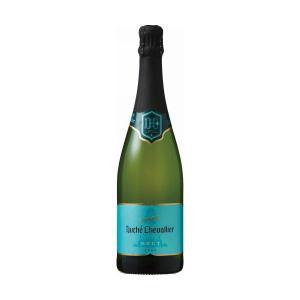 送料無料 スパークリングワイン スペイン ドゥーシェ・シュバリエ ブリュット 白 750ml×6本 ...