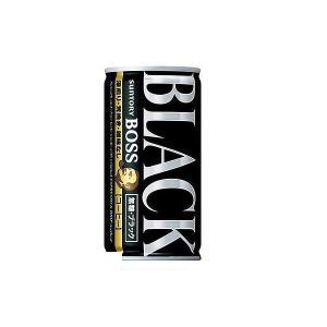 送料無料 サントリー BOSS ボス 無糖ブラック 185ml×90本/3ケース あすつく|リカーBOSS PayPayモール店