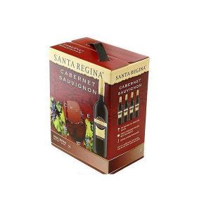 送料無料 サンタレジーナ カベルネソーヴィニヨン 3L 3000ml×4本  wine /北海道・沖縄県・東北・四国・九州地方は必ず送料が掛かります。|リカーBOSS PayPayモール店