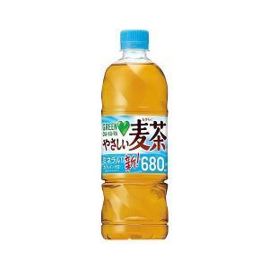 サントリー GREEN DA・KA・RA (グリーンダカラ) やさしい麦茶 650ml×24本 (2ケースまで1個口配送可能です。)