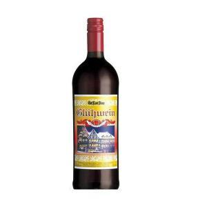 ワイン 送料無料 グートロイトハウス グリューワイン(ホットワイン)1L 1000ml×6本 [ドイツ/赤ワイン/甘口/ライトボディ/6本] wine|リカーBOSS PayPayモール店