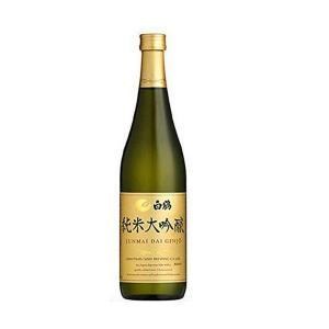 ワイングラスで飲んで美味しい日本酒 大吟醸 白鶴 純米大吟醸 720ml 1本