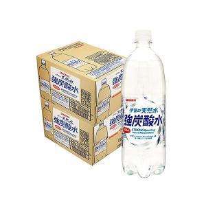 炭酸水 2ケース 送料無料 サンガリア 伊賀の天然水 強炭酸...