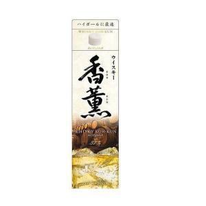 送料無料 合同酒精 ウィスキー 香薫 KOH-KUN 37度 1800ml 1.8L×6本/1ケース