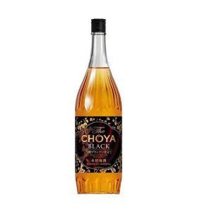 チョーヤ 梅酒 ザ ブラック The CHOYA BLACK 1800ml 1.8L 1本