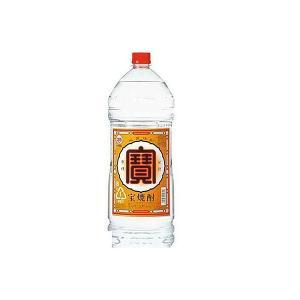送料無料 タカラ 宝酒造 寶 宝焼酎 25度 4000ml 4L×4本/1ケース あすつく