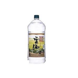 (送料無料)本格そば焼酎 雲海 そば 25度 4000ml(...