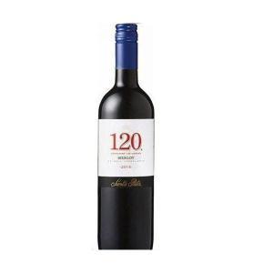 送料無料 サンタ・リタ 120 シェント・ベインテ メルロー 750ml×12本/1ケース wine