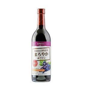 【日本ワイン】長野県 アルプス あずさワイン 酸化防止剤無添加 まろやか赤ワイン 中口 720ml 1本 wine|リカーBOSS PayPayモール店