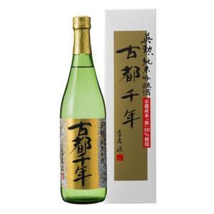 英勲 純米吟醸 古都千年 720ml カートン入り|liquor