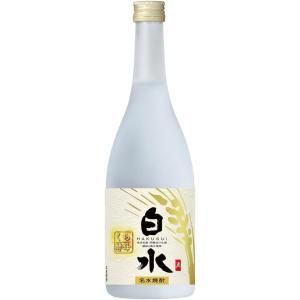 白水 むぎ 蔵酵母 720ml|liquor