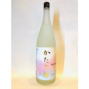 山野酒造 かたの桜 純米吟醸 1.8L|liquor