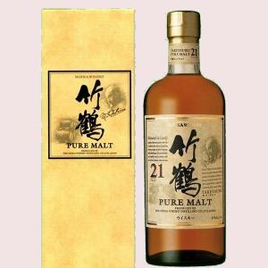 竹鶴21年ピュアモルト (簡易カートン入り)|liquor