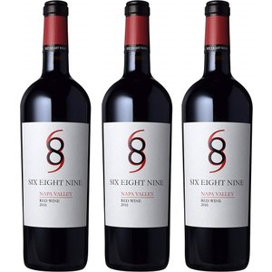 シックス エイト ナイン ナパ ヴァレー レッド 2016 750ml [ 赤ワイン フルボディ アメリカ 750ml 2本セット ] ポイント消費 全国送料無料|liquorgto