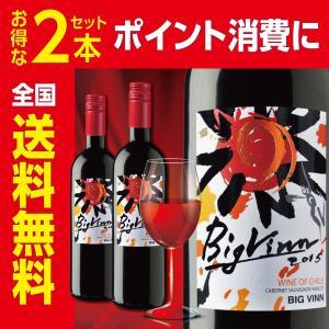 【チリワイン】ビッグ・バン レッド 750ml 2本セット 全国送料無料 ポイント消費 ポイント消化に|liquorgto