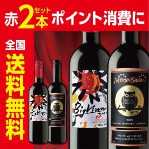 【人気のチリワイン2本セット】モンスーン・ビッグバン 赤 2本セット|liquorgto