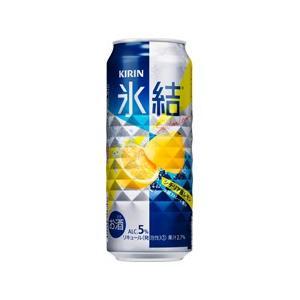 「送料無料」 キリン 氷結レモン 500ml缶 1ケース(24本入り)(ゆうパック限定 送料無料)|liquorisland