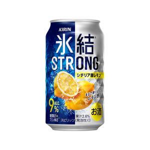キリン 氷結ストロング シチリア産レモン 350ml缶 1ケース(24本入り)|liquorisland