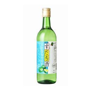 すだち酒 8度 720ml瓶 (鳴門鯛 本家松浦酒造場 徳島県 リキュール)