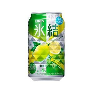 「送料無料」 キリン 氷結サワーレモン 350ml缶 1ケース(24本入り)(ゆうパック限定 送料無料)|liquorisland