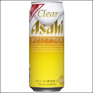 アサヒクリアアサヒ 500ml缶 1ケース(24本入り)|liquorisland