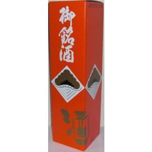 【化粧箱】御銘酒 1800ml用1本入り化粧箱|liquorisland