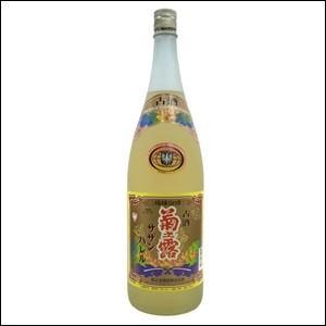 泡盛 菊の露 菊之露(きくのつゆ)サザンバレル3年貯蔵 25度 1800ml(1.8L)瓶 「菊之露酒造」
