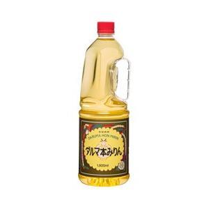 「送料無料」 ダルマ本みりん味つくり 1800mlペット 1ケース(6本入り)「中国醸造」|liquorisland