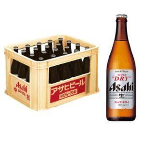 アサヒスーパードライ 中瓶 500ml瓶 1ケース(20本入り)|liquorisland