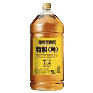 サントリー ウイスキー 角 40度 業務用  5L 5000ml ペットボトル 1本 (ディスペンサ...