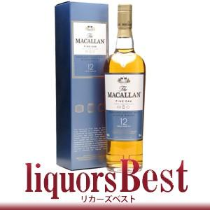 マッカラン 12年ファインオーク  700ml 正規品_あすつく対応 liquorsbest