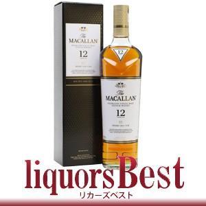 マッカラン 12年 700ml ウィスキー シェリー あすつく (正規箱付)|liquorsbest