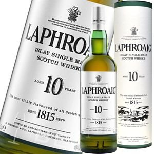 ウイスキー ラフロイグ 10年 43度 750ml 正規品_あすつく対応 シングルモルト 洋酒 wh...