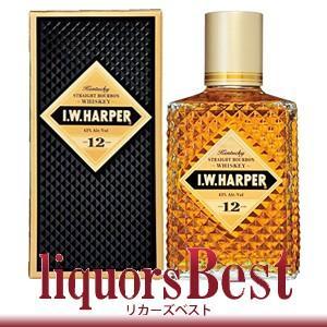 IWハーパー12年  750ml 正規品 箱付_あすつく対応 洋酒 ウィスキー バーボン アメリカン|liquorsbest