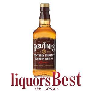 商品番号:1031139アーリータイムズの歴史と伝統の上に洗練された感覚を生かして生まれたバーボン。...