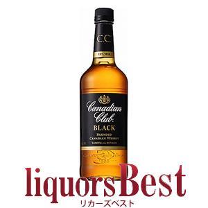 ウイスキー カナディアン クラブ ブラックラベル  700ml 正規品_あすつく対応 カナディアンウ...
