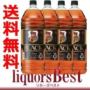 【ケース販売送料無料】ニッカ ブラックニッカ クリア ウィスキー 4000ml(4L×4本)【北海道・沖縄県は送料864円】|liquorsbest