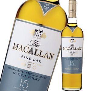 ザ マッカラン 15年 ファインオーク  700ml 正規品ギフトパック品箱入 liquorsbest