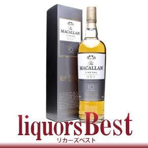 ザ マッカラン10年 ファインオーク  700ml 正規 箱付_あすつく対応 liquorsbest
